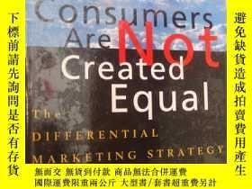 二手書博民逛書店All罕見Consumers Are Not Created E