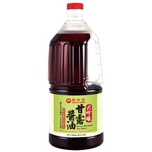 萬家香大吟釀甘露醬油1500ml【愛買】
