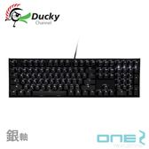 Ducky ONE 2 PBT鍵帽 2代 白光 機械式鍵盤 銀軸
