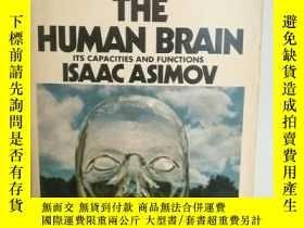 二手書博民逛書店伊薩克·阿西莫夫罕見The Human Brain:Its Ca