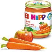 Hipp 喜寶 - 有 機胡蘿蔔蘋果泥 125gX6 罐 450元