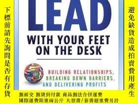 二手書博民逛書店You罕見Can t Lead With Your Feet On the Desk: Building Rela