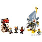 樂高積木樂高幻影忍者系列70629食人魚攻襲LEGO積木玩具xw