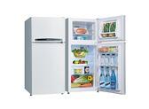 【Bevis畢維斯】SANLUX 台灣三洋 SR-B128B3 123L 風扇雙門冰箱【公司貨】