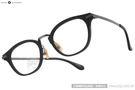 NINE ACCORD 光學眼鏡 UNION NASS C02 (黑-槍銀) 鈦金屬系列簡約款 # 金橘眼鏡