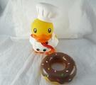 【震撼精品百貨】B.Duck_黃色小鴨~存錢筒-甜點廚師【共1款】