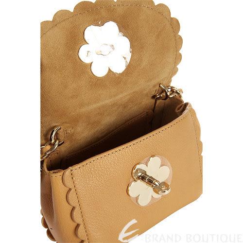 MULBERRY Flower 駝色鍊帶設計斜背包 1320423-02