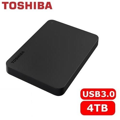 [富廉網] 【Toshiba】Canvio Basics 黑靚潮lll 4TB 2.5吋 行動硬碟 (HDTB440AK3CA)