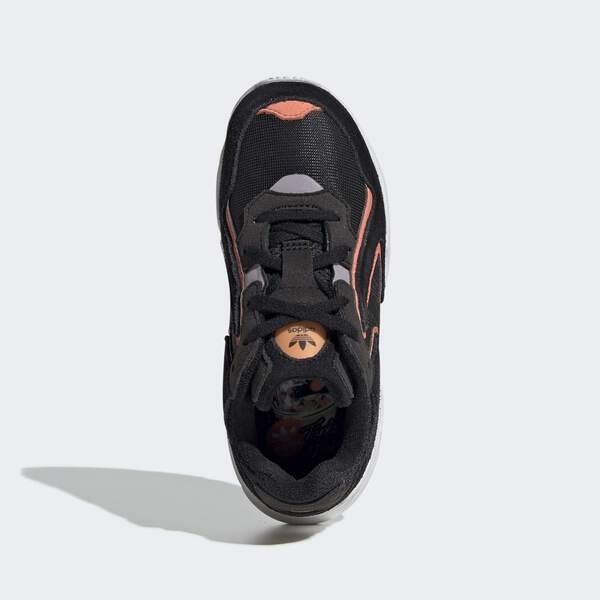 ADIDAS YUNG-96 CHASM C [EE7556] 中童鞋 運動 休閒 老爹 復古 潮流 愛迪達 厚底 黑橘