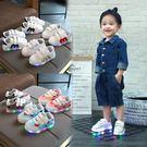 寶寶亮燈鞋2秋季4新款小孩鞋子3男孩子童鞋1-5歲女小童運動鞋 聖誕節交換禮物