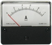 DC1A 670 指針式工業用直流電流錶頭