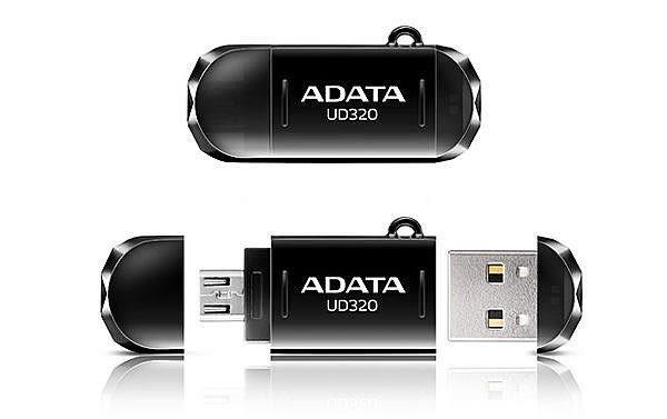 全新 威剛 ADATA UD320 16GB OTG雙傳輸手機專用隨身碟