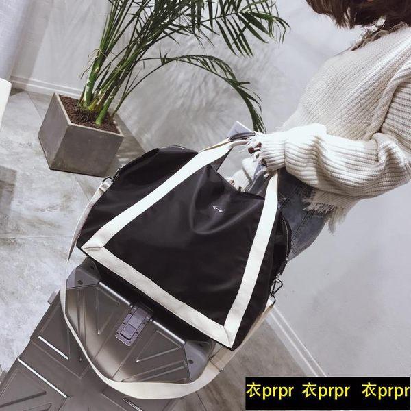 大容量行李袋輕便簡約出差旅游運動健身包 衣普菈