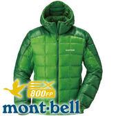 【Mont-Bell 日本 Superior Down男800FP連帽外套 苔綠】1101464/連帽外套★滿額送