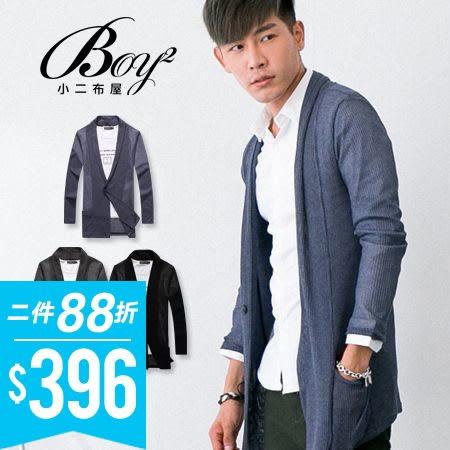 韓版紳士針織螺紋外套【NC0161】