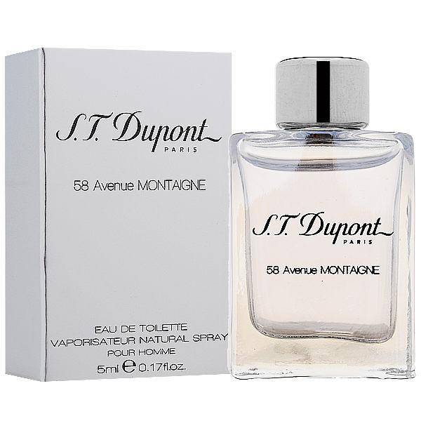 S.T. Dupont 58 Avenue MONTAIGNE 蒙田大道 58號 男性淡香水 5ml【七三七香水精品坊】