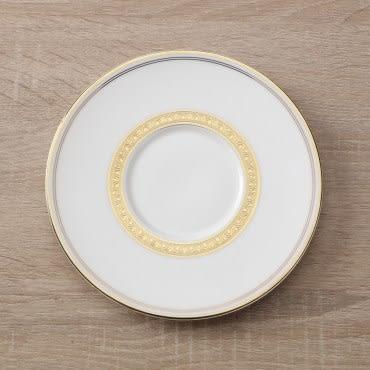 HOLA home 艾勒琴骨瓷咖啡杯碟組 棕白