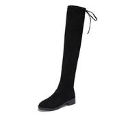女秋冬網紅瘦瘦長筒靴高筒加絨加大碼41 42 43特大碼女鞋 - 風尚3C