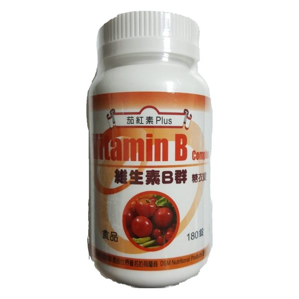 三多 維生素B群糖衣錠180粒 茄紅素Plus