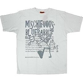 【波克貓哈日網】春夏短袖型男T恤◇日本品牌 mischievous◇《白色圓領T》
