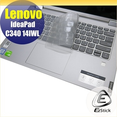 【Ezstick】Lenovo IdeaPad C340 14 IWL 奈米銀抗菌TPU 鍵盤保護膜 鍵盤膜