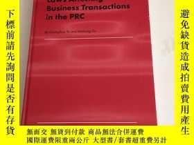 二手書博民逛書店Laws罕見Affecting Business Transactions in the PRC)內有劃線Y1