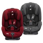【加贈六層紗拍嗝巾(2入)】奇哥 joie stages 0-7歲成長型安全座椅/汽座(黑/紅)