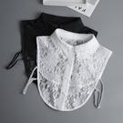 蕾絲假領子 百搭假領襯衫毛衣裝飾假衣領 白色襯衣假領