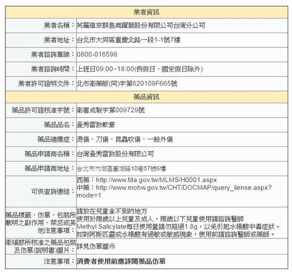 曼秀雷敦 軟膏 (大) 75g 【媽媽藥妝】 (乙類成藥)