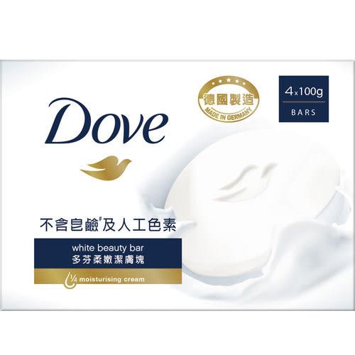 多芬滋養柔嫩潔膚100g*4【愛買】