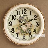 客廳掛鐘 新款簡約圓形鐘錶客廳臥室靜音創意掛鐘個性掛錶墻壁裝飾時鐘 JD 韓國時尚週