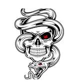 單眼 骷髏頭 紋身貼 花臂紋身貼紙 日韓系水轉印紋身貼紙 防水 仿真 刺青 身體彩繪 8040