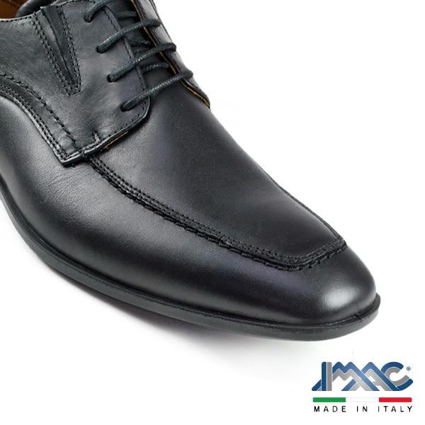 【IMAC】雅仕U-Tip德比鞋 黑色(50090-BL)