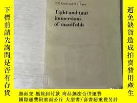 二手書博民逛書店Tight罕見and taut immersions of ma