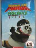 【書寶二手書T5/兒童文學_QBI】Kung Fu Panda Holiday with CD_Ben She.Yi M
