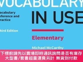 簡體書-十日到貨 R3YEnglishVocabulary in Use Elementary Book with Answers 彩色實