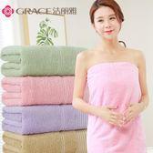 浴巾浴巾純棉成人男女加厚超強吸水加大浴巾全棉柔軟家用 曼莎時尚