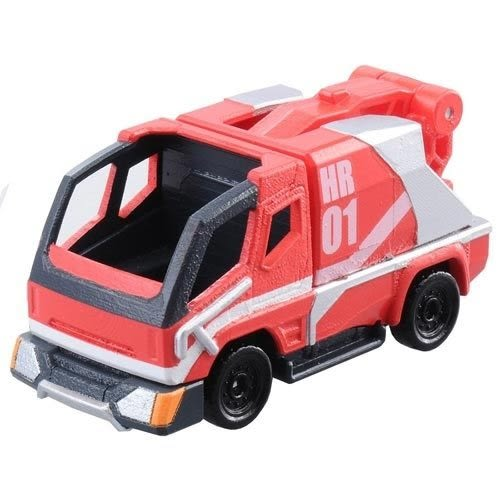 【 TOMICA多美火柴盒小汽車 】緊急救援隊 HR01機動工作車 黑盒 玩具車