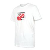Puma 白色 棉質 短袖 T恤 男女款 NO.H2867【新竹皇家 59862752】