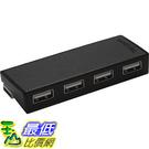 [美國直購 ShopUSA] 4埠集線器 Targus 4-Port Hub Black/Gray (ACH114US) $638