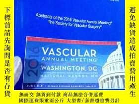 二手書博民逛書店Journal罕見of Vascular SurgeryY153
