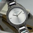 ANNE KLEIN安妮克萊恩女錶32mm銀色錶面銀色錶帶