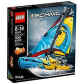 樂高積木 LEGO《 LT 42074 》 Technic 科技系列 - Racing Yacht 賽艇╭★ JOYBUS玩具百貨