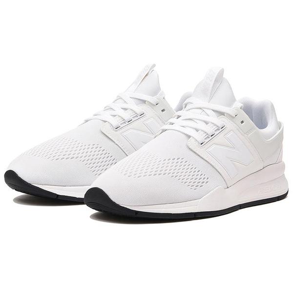 【現貨】NEW BALANCE 247 男鞋 女鞋 慢跑 休閒 襪套 網布 透氣 白【運動世界】MS247EW
