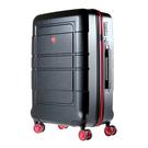 創新採用PET環保材質, 重量僅3.6kg 超耐磨360度雙排靜音飛機輪 超輕鋁合金拉桿