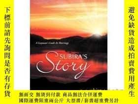 二手書博民逛書店Subira's罕見Story: A Layman's Look At Marriage-蘇比