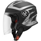 ASTONE安全帽,MJS,AS1/消光黑銀