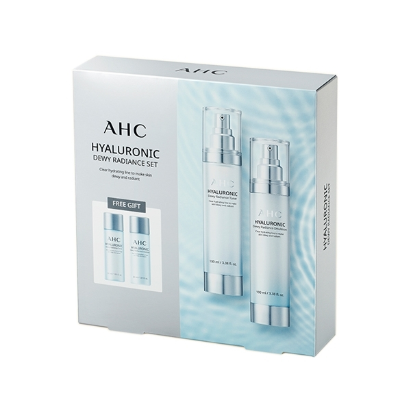 韓國 AHC 玻尿酸神仙水保養組合(4件入)【小三美日】2020最新第三代包裝 A.H.C