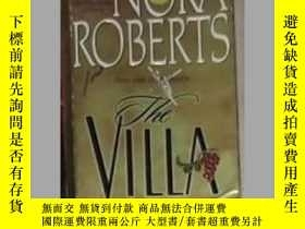 二手書博民逛書店英文原版罕見The Villa by Nora RobertsY