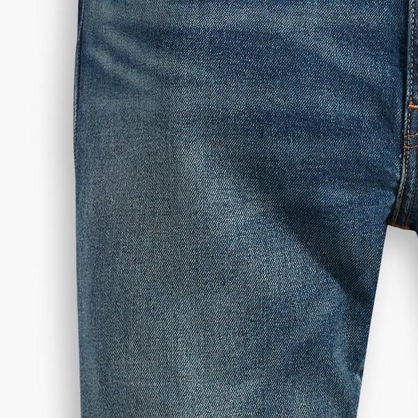 Levis 男款 上寬下窄 512 低腰修身窄管牛仔褲 / 赤耳 / 復古水洗 / 彈性布料